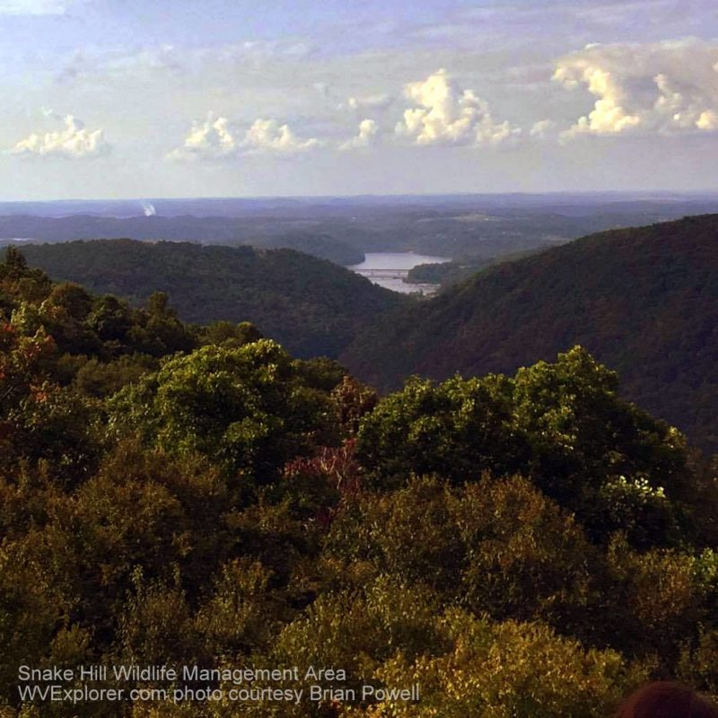 Snake Hill Wildlife Management Area (WMA), Monongahela County, West Virginia