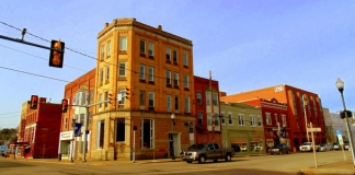 Buildings on Market Street, Spencer
