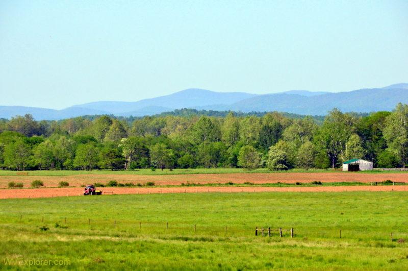 Pasture in Randolph County, West Virginia