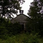 Abandoned church near Elk Fork, Jackson County, Mid-Ohio Valley Region