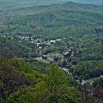 Ansted, WV, from Gauley Mountain, Fayette County, New River Gorge Region