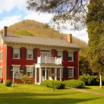 Tompkins home at Cedar Grove, WV, Kanawha County, Metro Valley Region