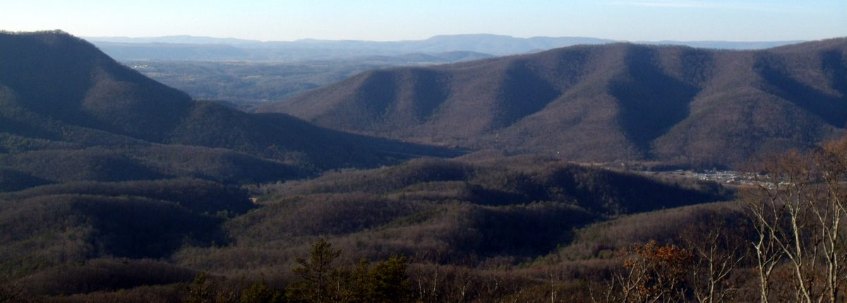 View from Greenbrier State Forest