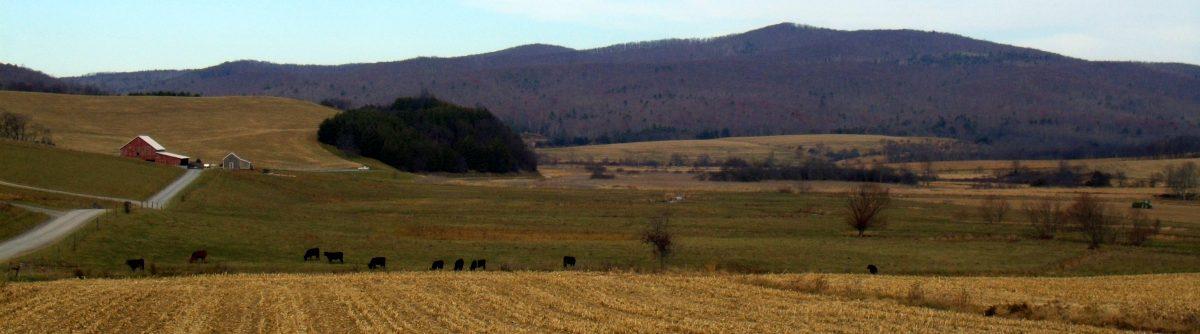 Farmstead on Hans Creek, Monroe County, Greenbrier Valley Region