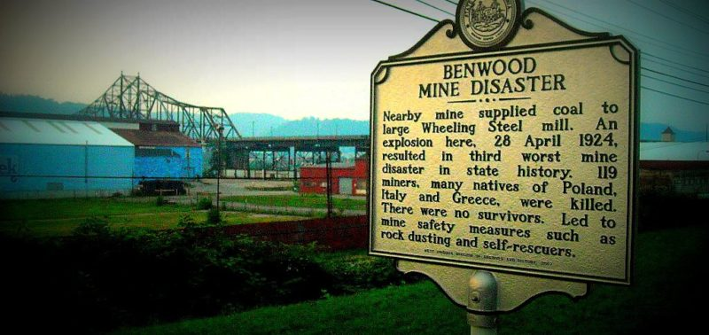 Site of Benwood Mine Disaster