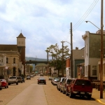 Main Street, Benwood, WV, Marshall County, Northern Panhandle Region