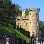 Berkeley Castle at Berkeley Springs, WV, Morgan County, Eastern Panhandle Region