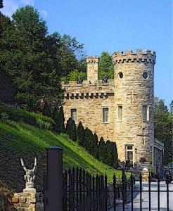 Berkeley Castle at Berkeley Springs, WV, Morgan County, Eastern Panhandle Region