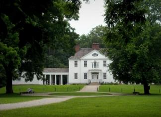 Blennerhassett Mansion, Blennerhassett Island Historical State Park, Parkersburg, WV, Wood County, Mid-Ohio Valley Region