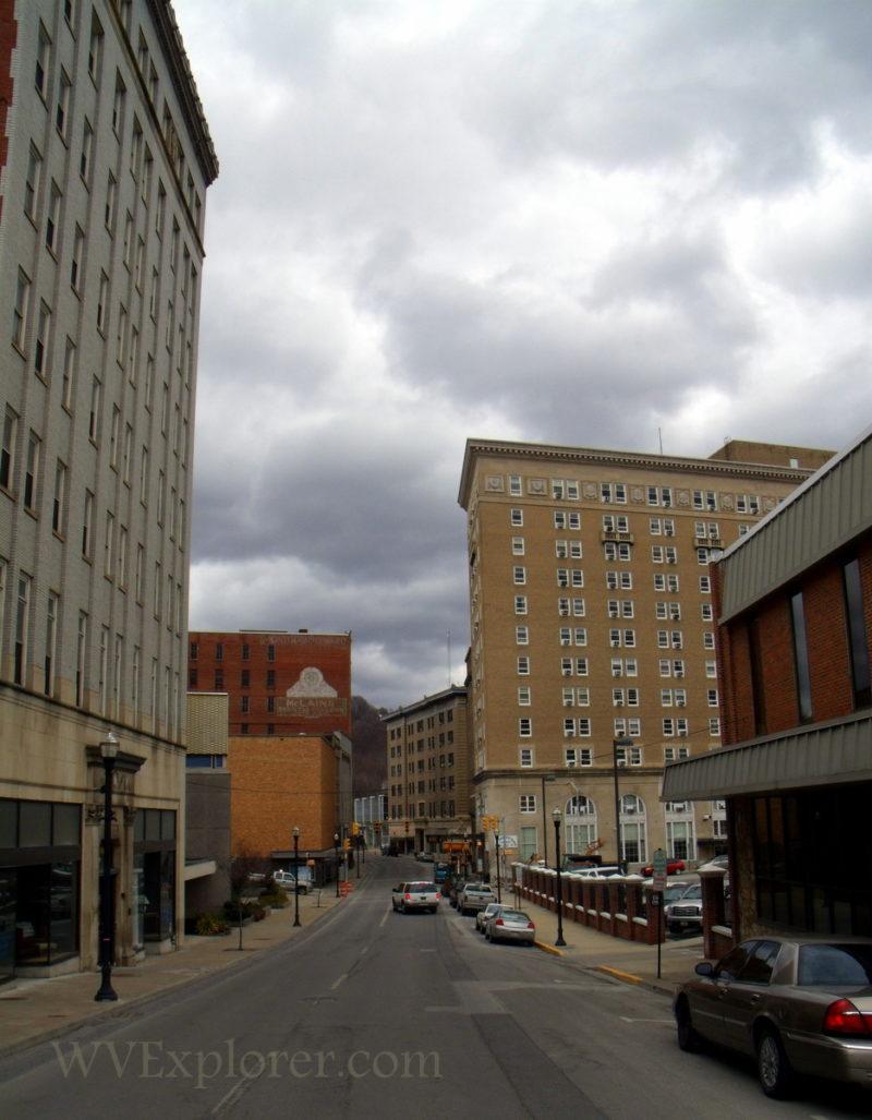 Buildings on Federal Street in Bluefield