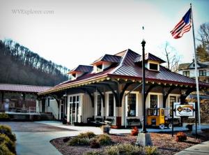 Visitor Center in Bramwell National Historic District, Bramwell, WV, Mercer County, Bluestone Region