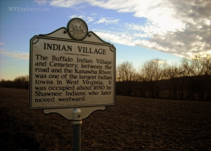 Prehistoric village at Buffalo, WV, Putnam County, Mid-Ohio Valley Region