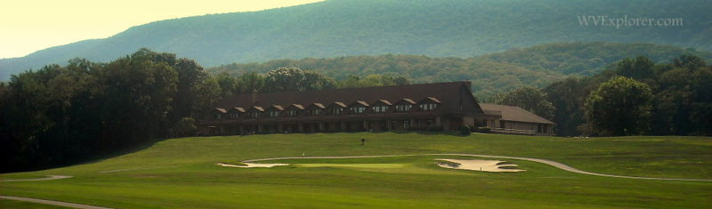 Evening at Cacapon State Park Lodge