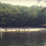 Swimmers at Cacapon Resort State Park, Morgan County, Eastern Panhandle Region