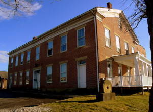 Cain House in Saint Marys, WV, Pleasants County, Mid-Ohio Valley Region