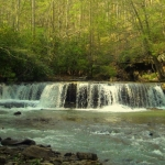 Mash Fork Falls at Camp Creek State Park
