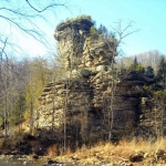 Castle Rock at Pineville, West Virginia, Wyoming County, Hatfield & McCoy Region