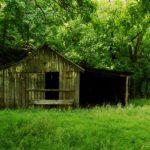 Barn on Cedar Creek near Cedar Creek State Park, Gilmer County, Heartland Region