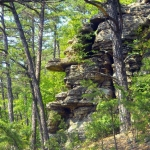 Cheeks Rocks near Mathias, WV, Lost River State Park, Hardy County, Potomac Branches Region