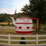 World's Largest Teapot, Chester, WV, Hancock County, Northern Panhandle Region