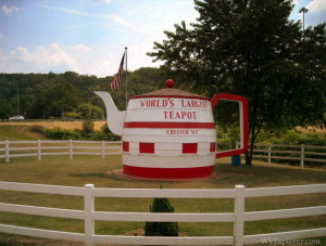 World's Largest Teapot, Chester, West Virginia, Hancock County, Northern Panhandle Region