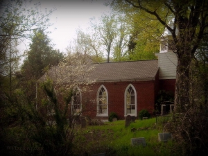 Little Brick Church at Cedar Grove, WV, Kanawha County, Metro Valley Region