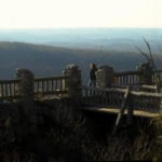 Overlook at Coopers Rock State Forest, Monongalia County, Monongahela Valley Region