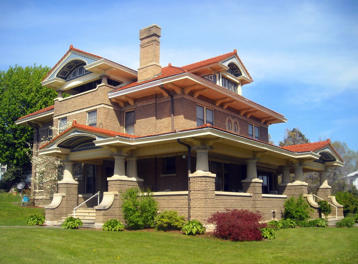 Craftsman-style home at Princeton