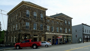 Historic bank building, Davis, West Virginia, Tucker County, Allegheny Highlands Region