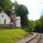 Church at Deepwater, WV, Fayette County, New River Gorge Region