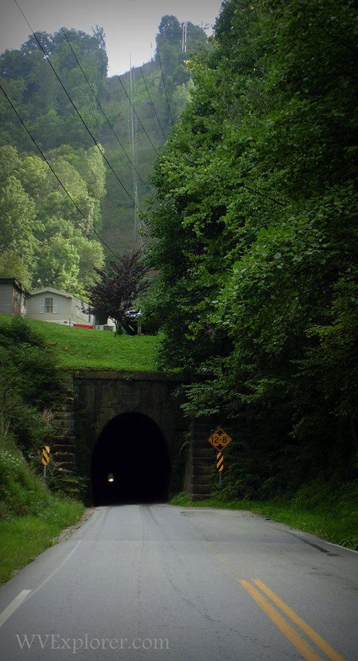 Tunnel near Dingess, WV, Mingo County, Hatfield & McCoy Region