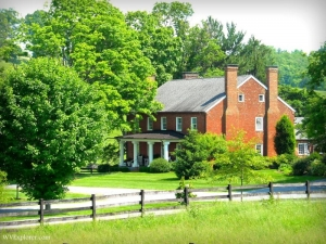 Estate Near Lewisburg West Virginia Greenbrier County Valley Region