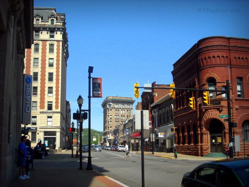 Main Street traffic in Clarksburg