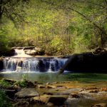 Drawdy Falls near Peytona, WV, Boone County, Hatfield & McCoy Region