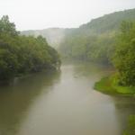 Elk River near Duck, WV, Clay County, Heartland Region