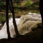 Falls on Dunloup Creek near Thurmond, WV, Fayette County, New River Gorge Region