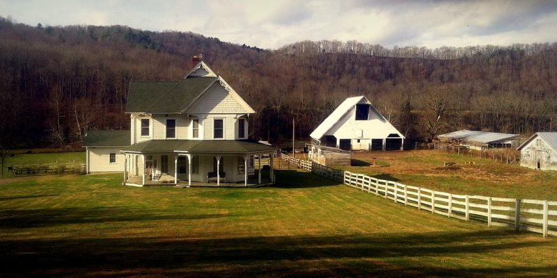 Farmstead on Hans Creek, Monroe County, Greenbrier Valley Region