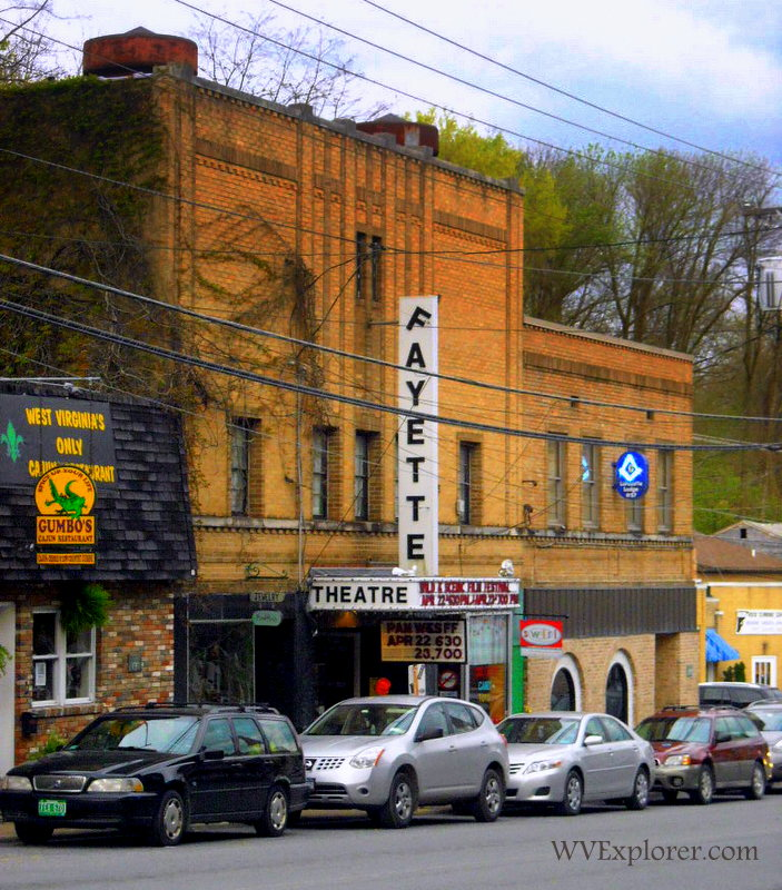 Historical theater at Fayetteville