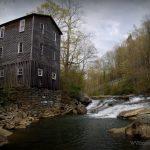 Fidler's Mill on Little Kanawha River near Kanawha Head, WV, Upshur County, Monongahela Region