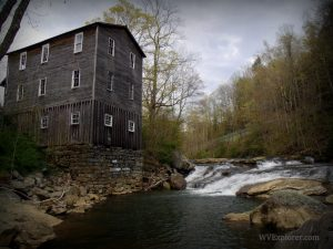 Fidler's Mill on Little Kanawha River near Kanawha Head, WV, Upshur County, Monongahela Region