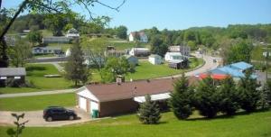 US 19 at Flatwoods, West Virginia, Braxton County, Heartland Region