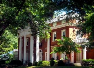 West Virginia Governor's Mansion at Charleston, WV, Kanawha County, Metro Valley Region