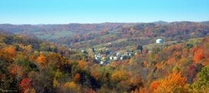 Valley at Cameron, WV, Marshall County, Cities and Towns, Northern Panhandle Region