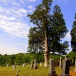 Graveyard at Joetown, WV, Marion County, Monongahela Valley Region