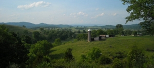 Farmland near Asbury, WV, Greenbrier County, Greenbrier Valley Region