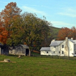 Greenbrier Valley farm near Alderson, WV, Greenbrier County, Greenbrier Valley Region