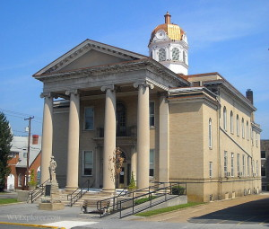 Hampshire County, West Virginia, Court House, Romney, Potomac Branches Region