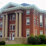 Hardy County Court House, Moorefield, WV, Potomac Branches Region