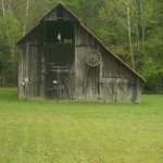 Barn near Watters Smith State Park, West Milford, WV, Harrison County, Monongahela Valley Region