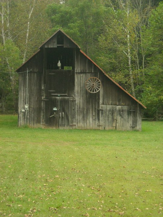 Barn near Vandalia, WV, Lewis County, Monongahela Valley Region